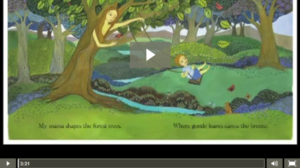 My Mama Earth by Susan B. Katz, Illustrated by Melissa Launay, music by Julia Bordenaro